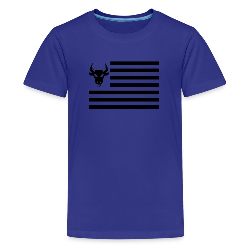 PivotBoss Flag Black - Kids' Premium T-Shirt