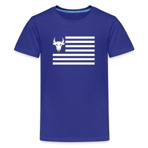PivotBoss Flag White - Kids' Premium T-Shirt