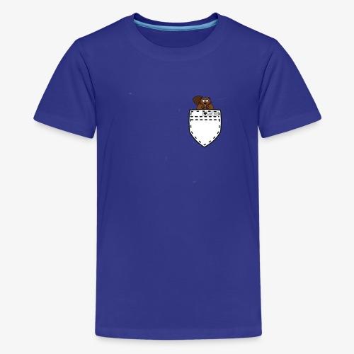 POCKET SQUIRREL - Kids' Premium T-Shirt