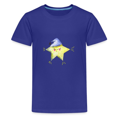 Sleepy Star with Hat - Kids' Premium T-Shirt