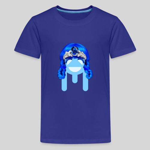 ALIENS WITH WIGS - #TeamMu - Kids' Premium T-Shirt