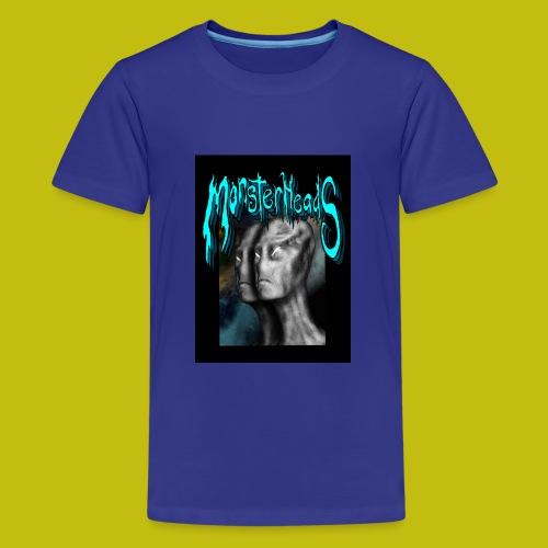 MonsterHeads ~ Grayman Aliens - Kids' Premium T-Shirt