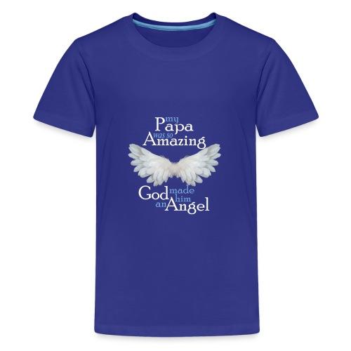 Papa Amazing Angel - Kids' Premium T-Shirt