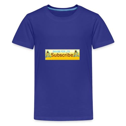 GAMES FOR LIFE - Kids' Premium T-Shirt