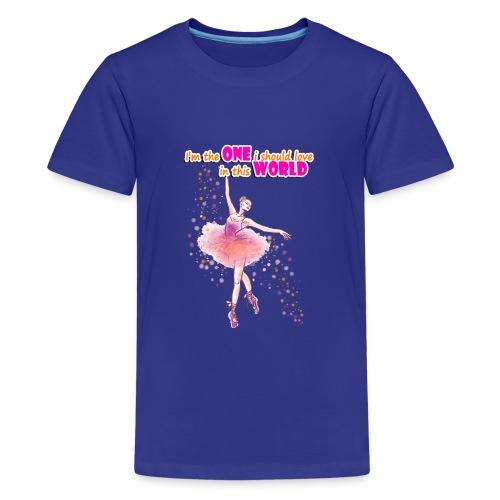 I m the one i should love - Kids' Premium T-Shirt
