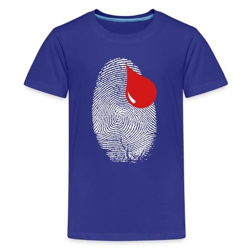 Finger Print - Kids' Premium T-Shirt