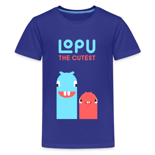 Lopu - The Cutest Worms - Kids' Premium T-Shirt