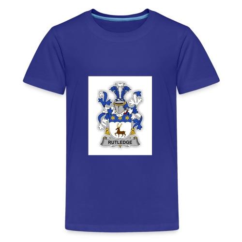 Rutledge family Crest - Kids' Premium T-Shirt