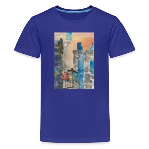MANHATTAN NEIGHBORHOOD Art by Timothy Leistner - Kids' Premium T-Shirt