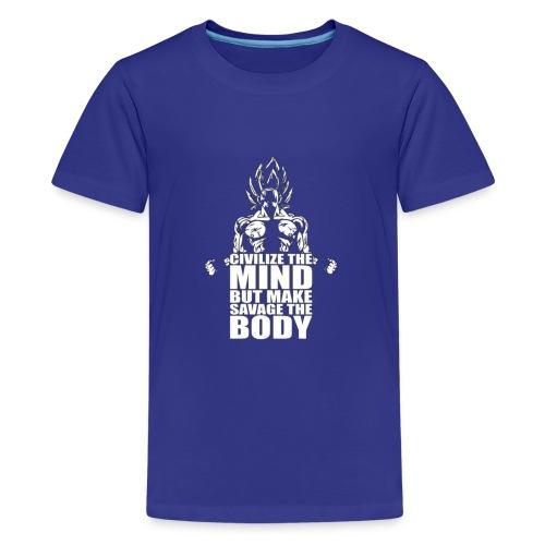 Dbz C Shirt - Kids' Premium T-Shirt