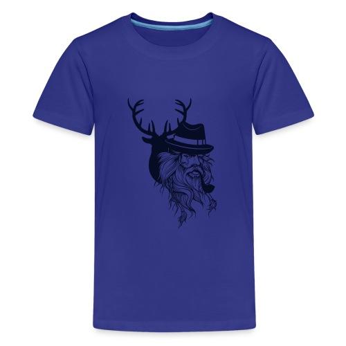 Santa's Reindeer - Kids' Premium T-Shirt