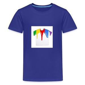 tshirt printing for kids paint design 100683 - Kids' Premium T-Shirt