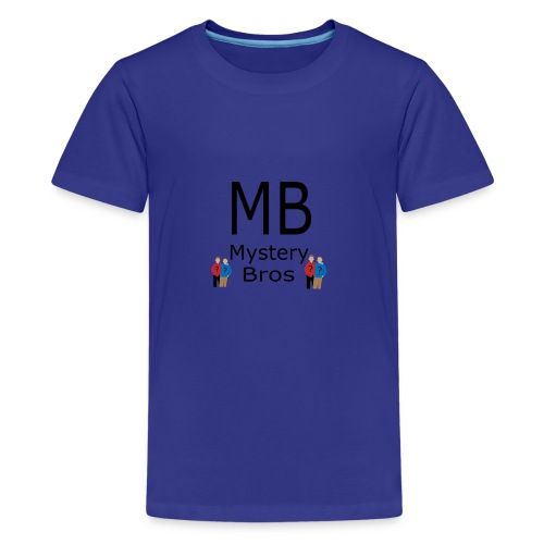 Mystery Bros T-Shirt Logo - Kids' Premium T-Shirt