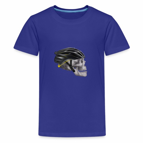 Skull Cyclist - Kids' Premium T-Shirt