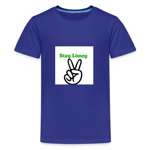 Peace Brand White - Kids' Premium T-Shirt