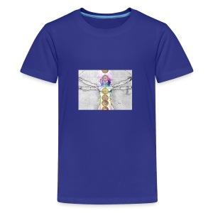 7 Chakras Yoga Meditation Apparel - Kids' Premium T-Shirt