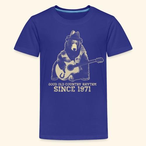 Good Old Country Rhythm - Kids' Premium T-Shirt