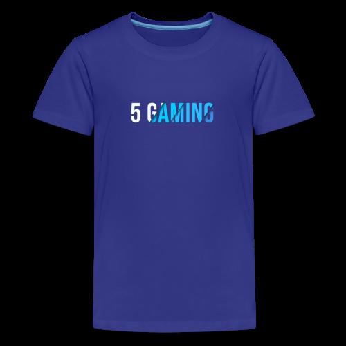 5 Gaming Blue - Kids' Premium T-Shirt