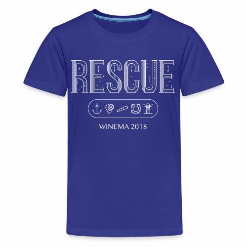 Winema 2nd High School Camp (RESCUE) - Kids' Premium T-Shirt