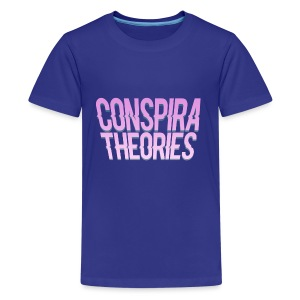 Women's - ConspiraTheories Official T-Shirt - Kids' Premium T-Shirt
