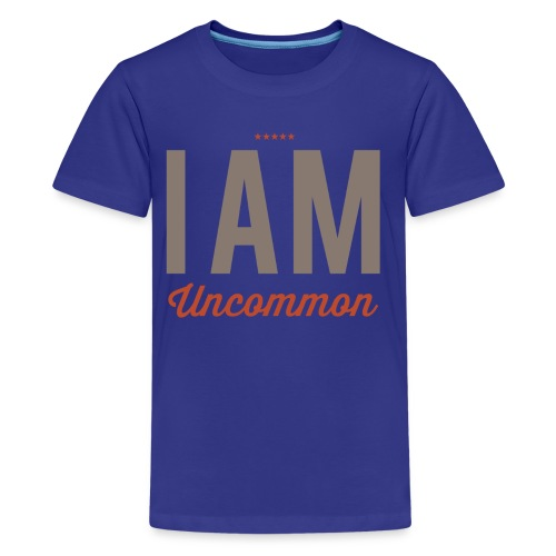 I Am Uncommon - Kids' Premium T-Shirt
