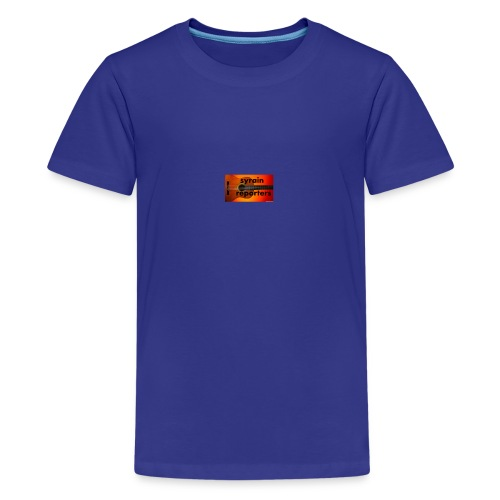 the kids are reporters - Kids' Premium T-Shirt