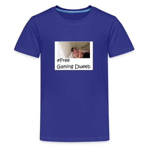 #FreeGamingDweeb - Kids' Premium T-Shirt