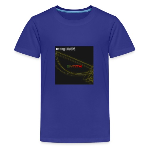 Synth - Music Cover - Kids' Premium T-Shirt