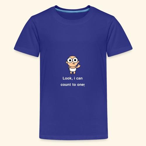 i-can-count-2018 - Kids' Premium T-Shirt