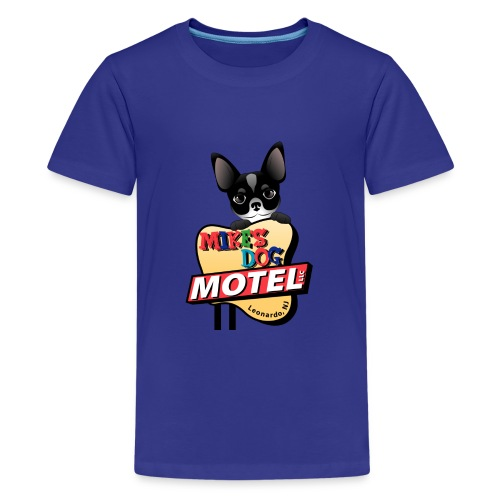 MikesDogMotelLogo - Kids' Premium T-Shirt