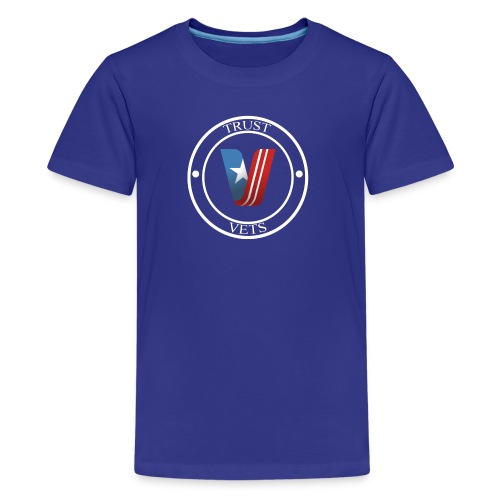 Trust Vets medallion - Kids' Premium T-Shirt