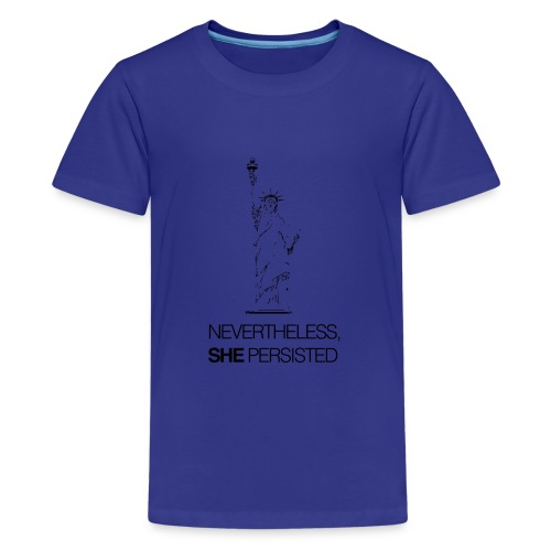 Nevertheless, SHE Persisted - Kids' Premium T-Shirt