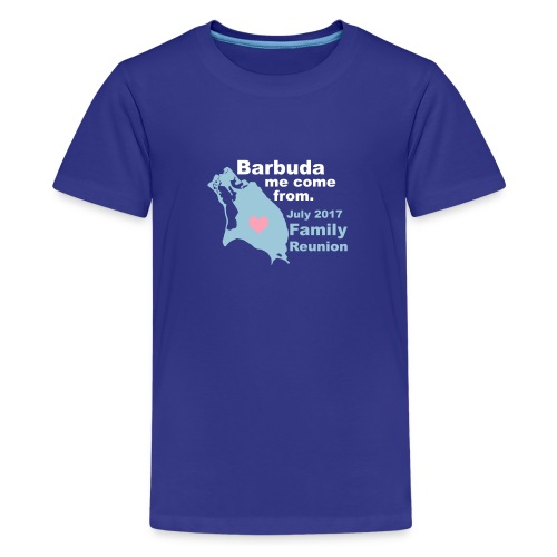Barbuda Family Reunion - Kids' Premium T-Shirt