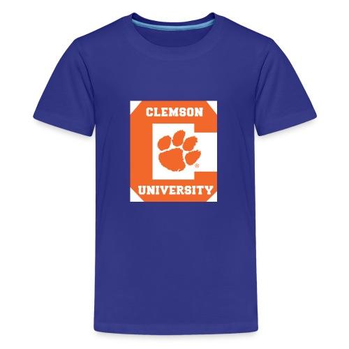 Clemson University Logo 1 - Kids' Premium T-Shirt