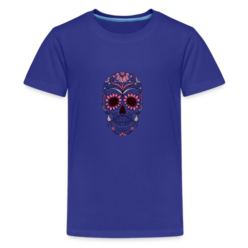 Fancy skull - Kids' Premium T-Shirt