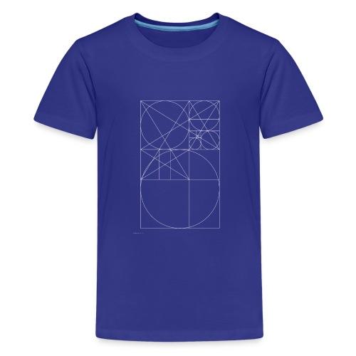 The Golden Rule - White - Kids' Premium T-Shirt