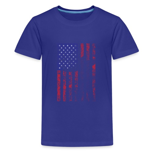 bow flag seperated2 - Kids' Premium T-Shirt