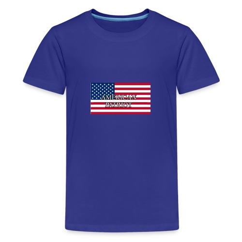 American Patriot - Kids' Premium T-Shirt