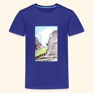 LANDSCAPE MULTI COLOUR - Kids' Premium T-Shirt