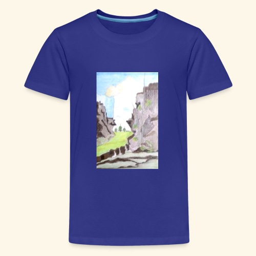 LANDSCAPE MULTI COLOUR - Kids' Premium T-Shirt