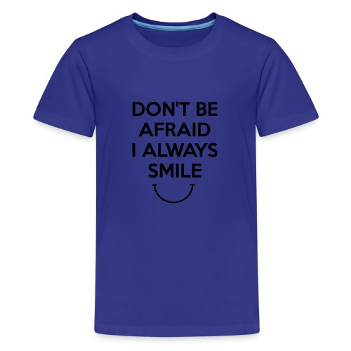 i always smile - Kids' Premium T-Shirt