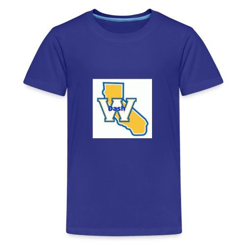 Original ChrisDash Emblem - Kids' Premium T-Shirt