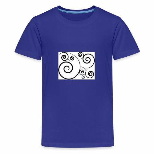 'I just want a Swirly Swirly' - Kids' Premium T-Shirt