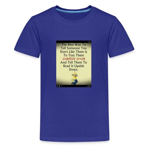 22312eac233ad515db9f8003c494f795 chef funny minio - Kids' Premium T-Shirt