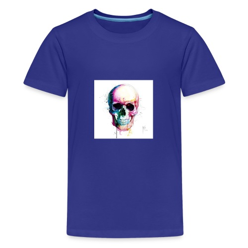 Colourful skull - Kids' Premium T-Shirt