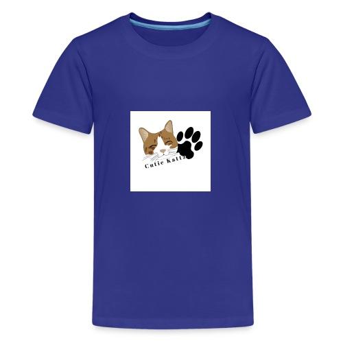 Cutie_Kattz - Kids' Premium T-Shirt