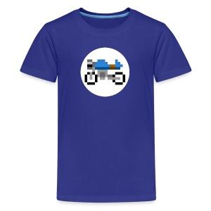 Cafe Racer Motorcycle - Kids' Premium T-Shirt