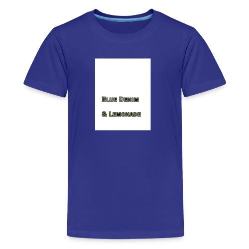 Blue Denim and Lemonade Brand - Kids' Premium T-Shirt