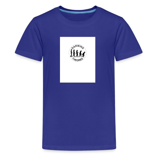 Darwins Theories Logo - Kids' Premium T-Shirt