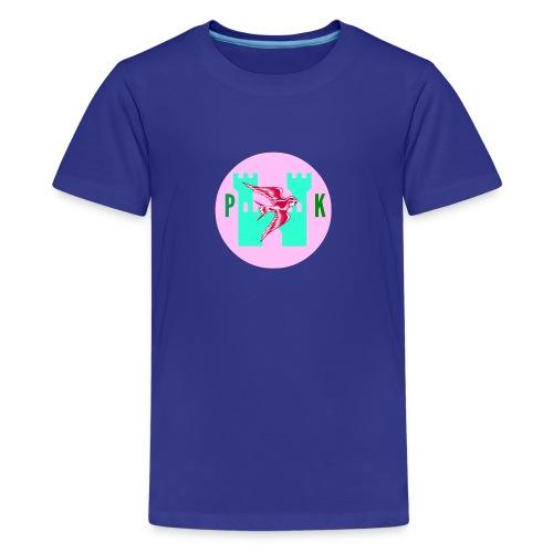 Pink Phoenix Kingdom Logo - Kids' Premium T-Shirt